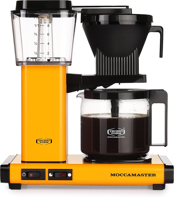 Moccamaster - KBG 741 AO - Cafetera con filtro, 1,25 L hight 39 cm ...