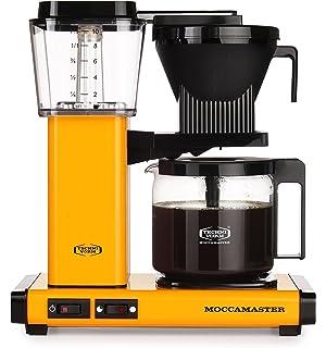 Orange 1090 W Aluminum Moccamaster Cup-one Filter Coffee Machine