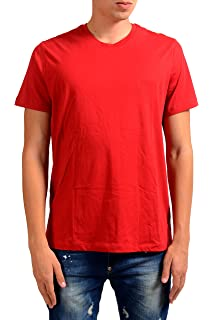 Hugo Boss Tiburt 23 Mens Yellow Crewneck T-Shirt US M IT 50