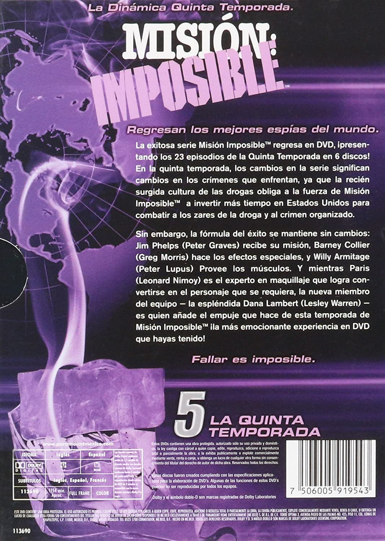 Mision Imposible Temporada 5(Mission Impossible Season 5): Amazon ...
