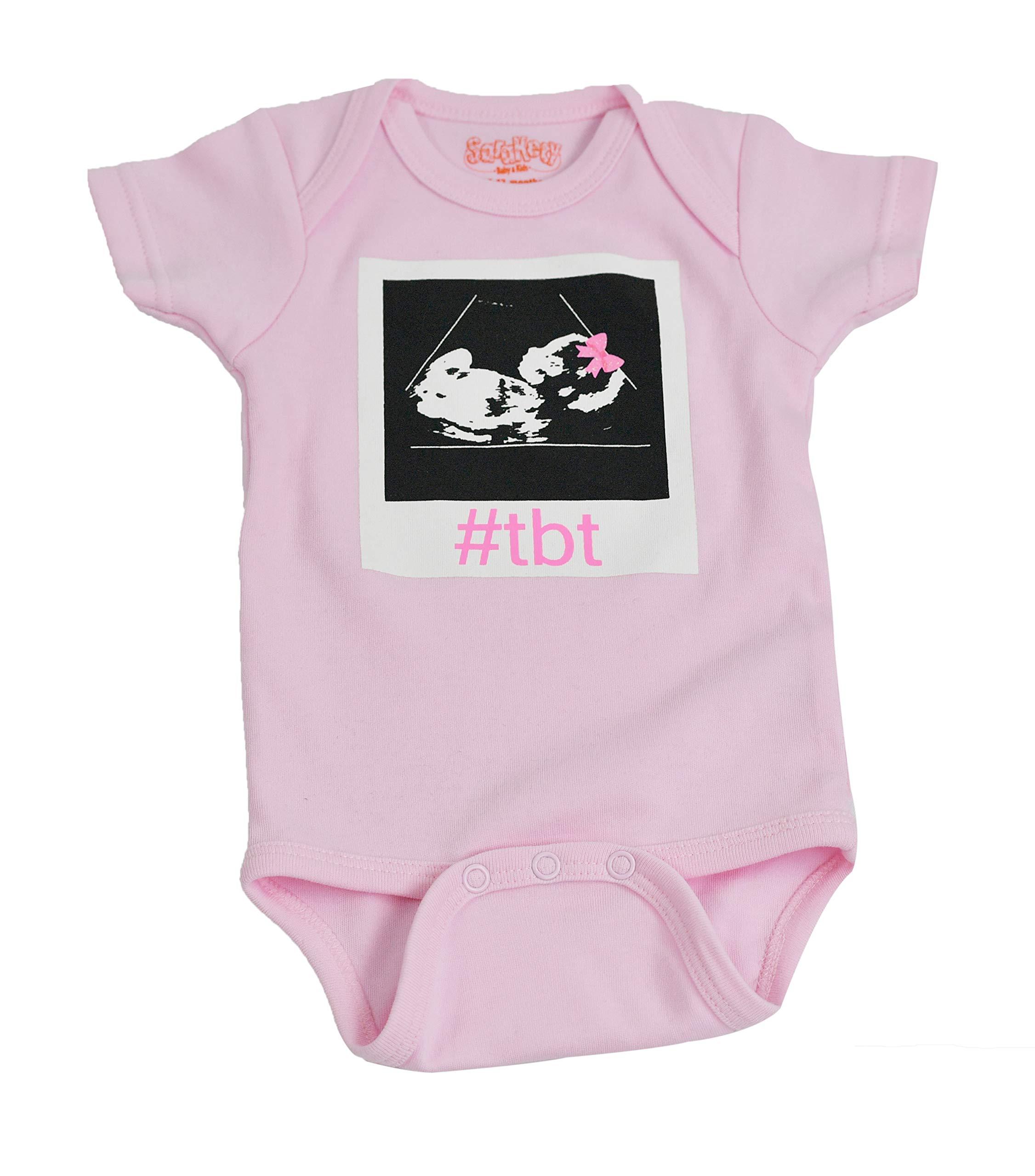 ecbcfe2d52 Amazon.com  Sara Kety TBT Onezee 0-6 Months Black  Baby