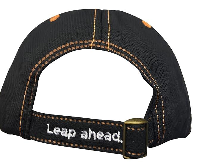 de53a60a Amazon.com: Frogger Golf Fly Dry Performance, Slide Buckle Ball Cap - One  Size - Black/Orange: Clothing