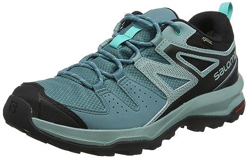 Salomon X Radiant GTX W, Calzado de Senderismo y multifunción, Impermeable para Mujer: Amazon.es: Zapatos y complementos