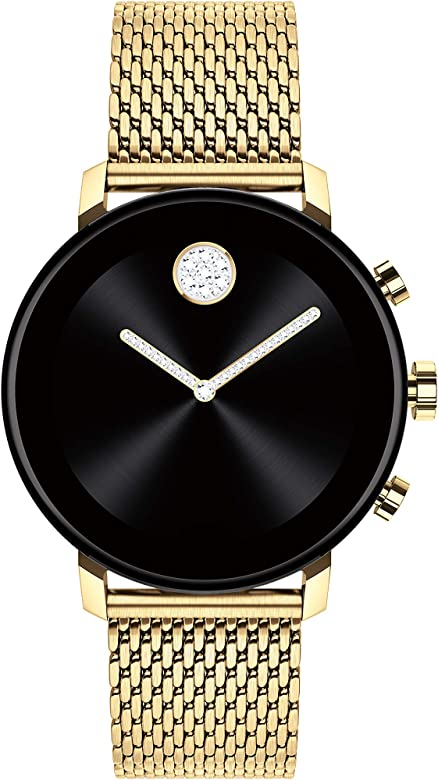 Amazon.com: Movado Connect 2.0 Unisex Powered with Wear OS ...