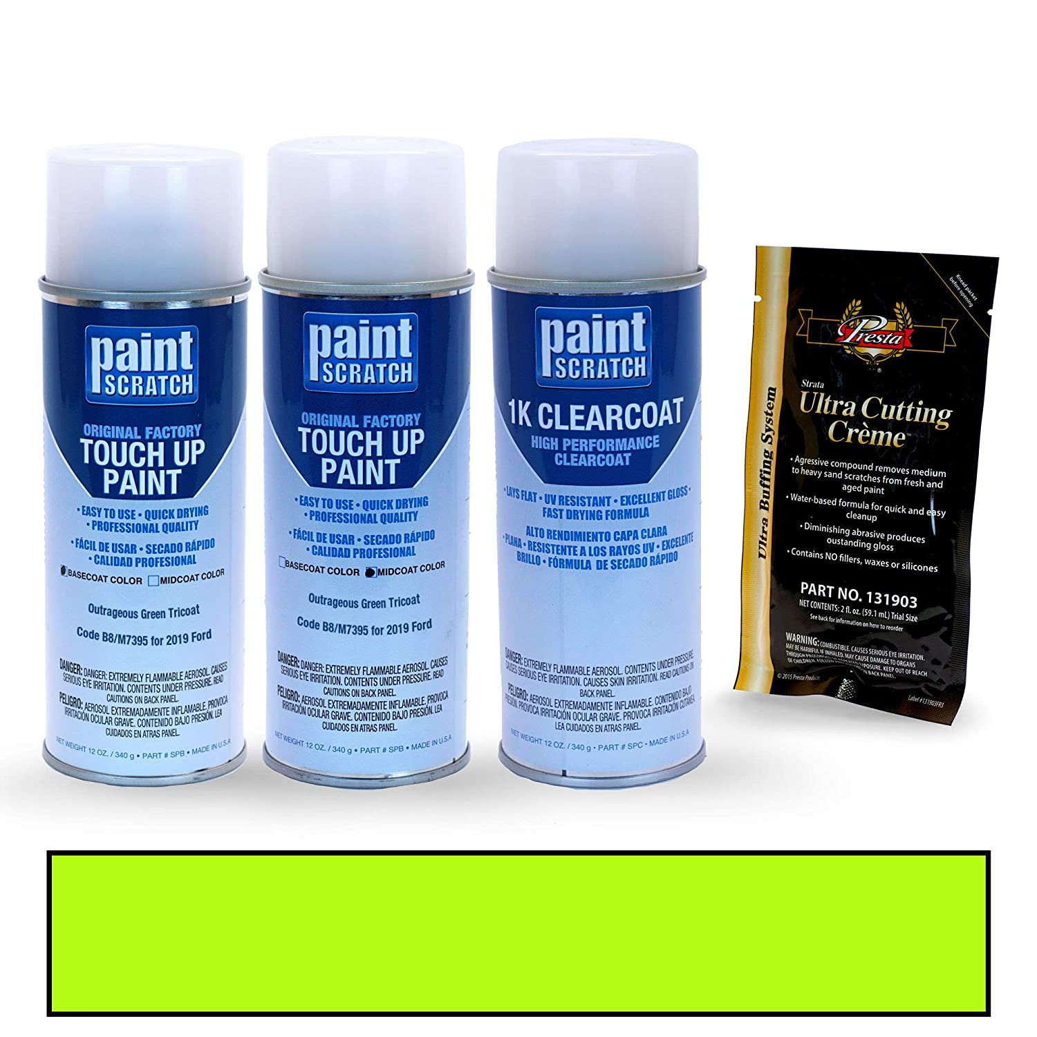 Amazon.com: PAINTSCRATCH Deep Impact Blue Metallic J4/M7289 for 2019 Ford Fiesta - Touch Up Paint Spray Can Kit - Original Factory OEM Automotive Paint ...