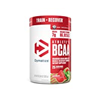 Dymatize Athlete's BCAA Supplement, 7g of BCAAs, Amino Acids Essential for Muscle...