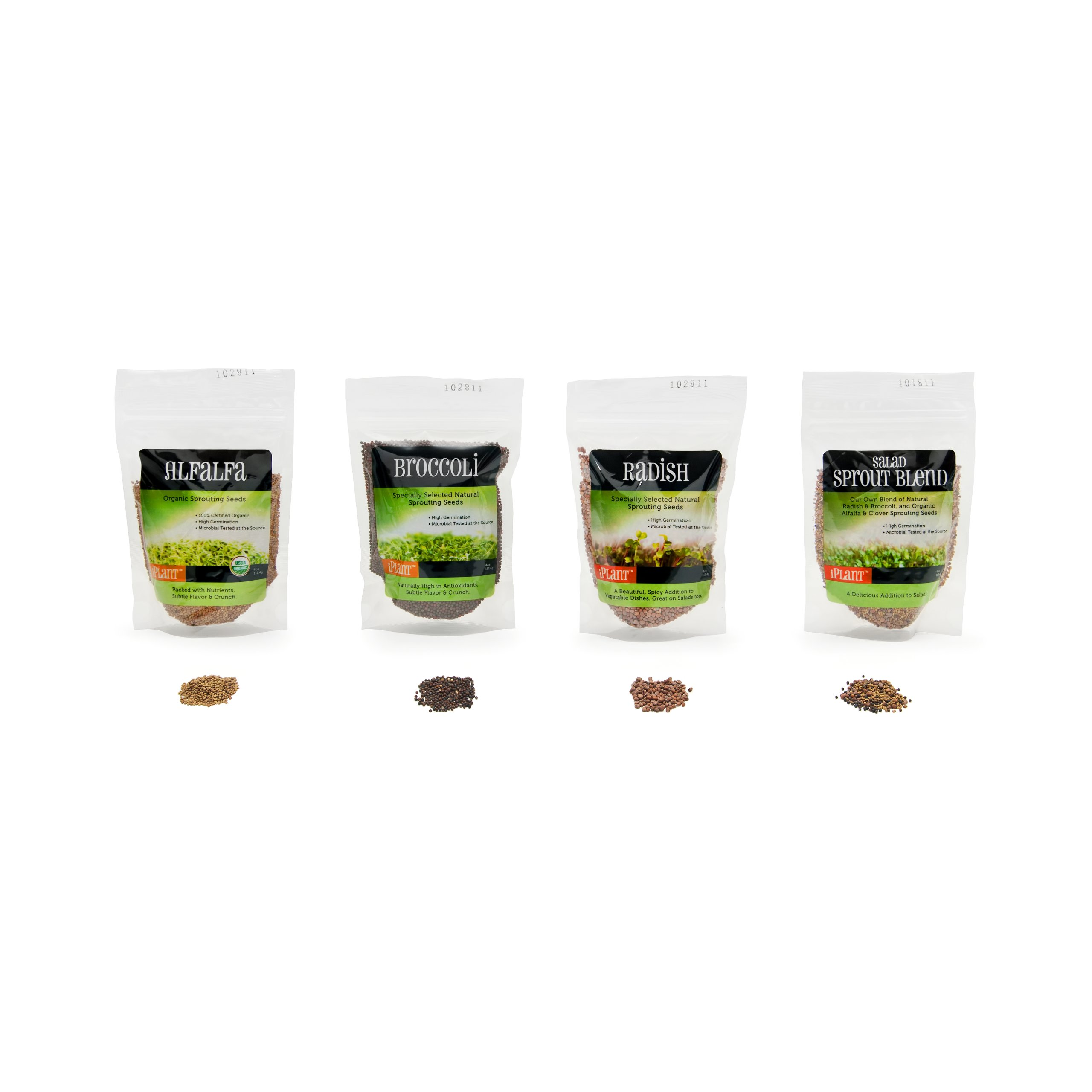 iPlant Sprouting Seed, Variety Pack