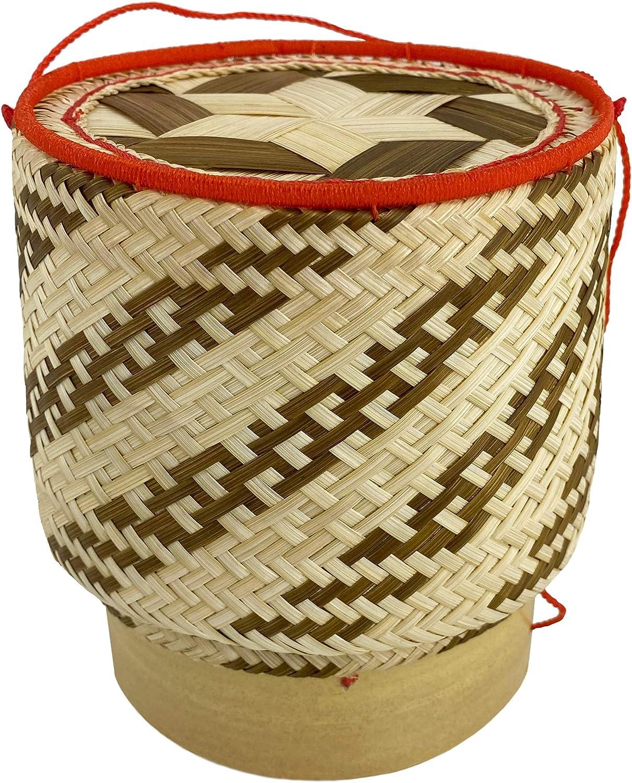 Small box Rattan Box Multi purpose box Woven storage baskets. Sticky Rice Menu Isan Food