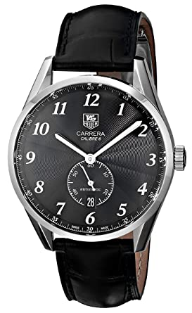 55247959c5e38 Amazon.com  TAG Heuer Men s WAS2110.FC6180 Carrera Watch With Black ...