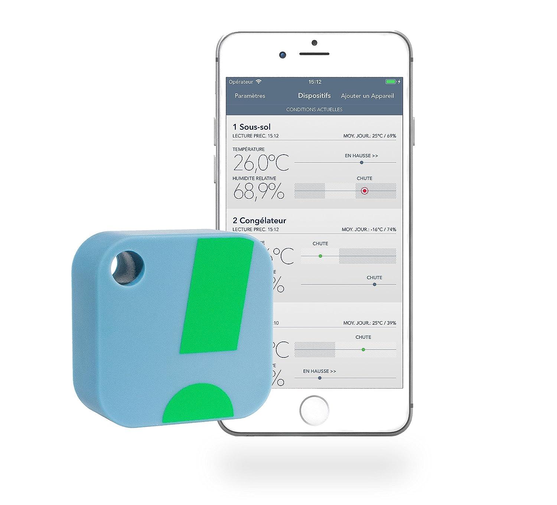 Amazon.com: SensorPush Wireless Thermometer/Hygrometer for iPhone ...