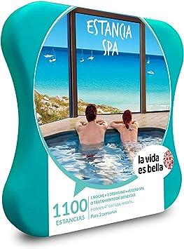 LA VIDA ES BELLA - Caja Regalo mujer hombre pareja idea de regalo - Estancia spa - 1100 estancias en resorts, hoteles de hasta 4* con spa y mucho más: Amazon.es: Deportes y aire libre