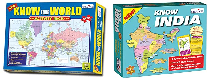Creative Educational Aids P  Ltd  Know Your World - an Activity Pack