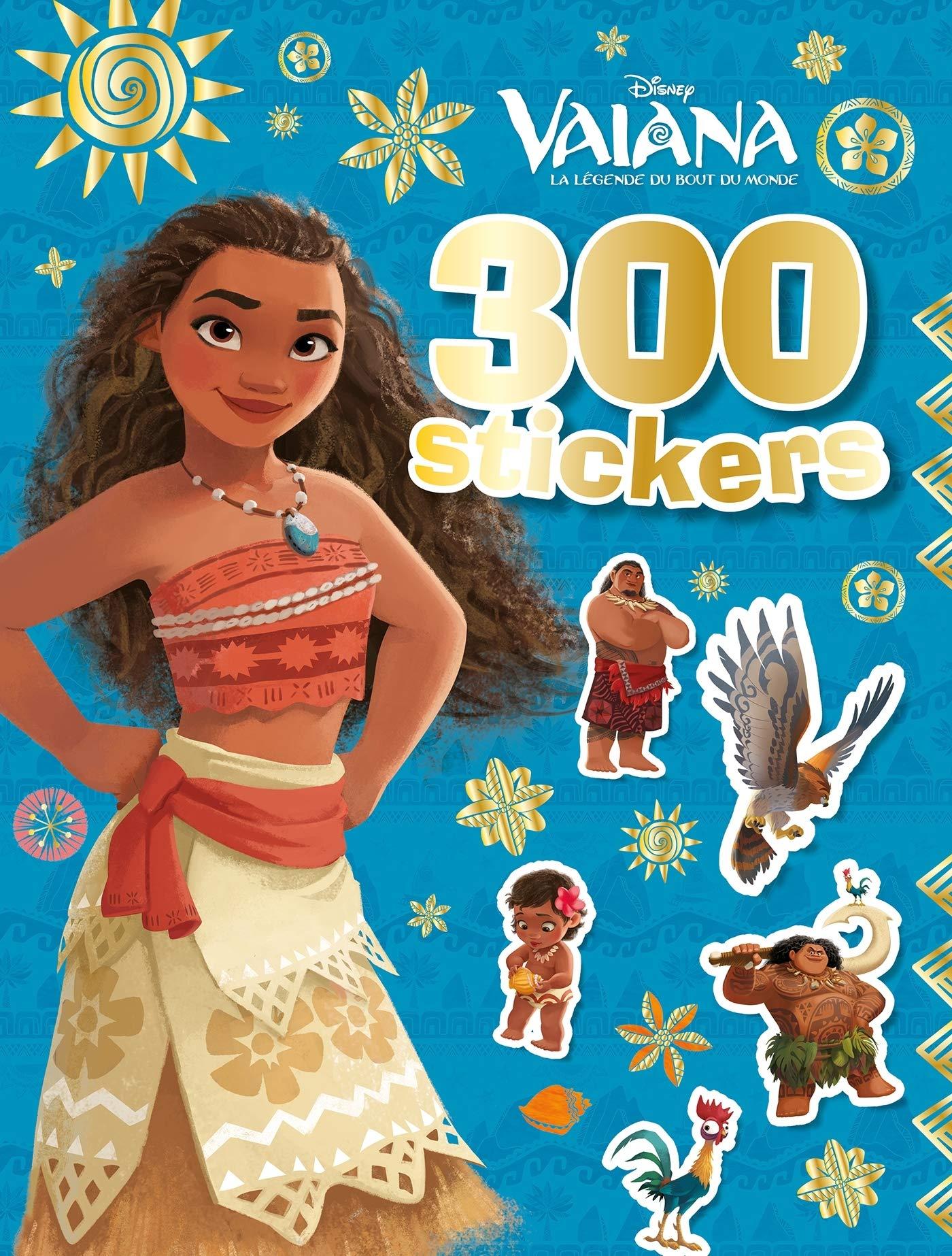 300 stickers Vaiana: Amazon.es: Disney: Libros en idiomas extranjeros