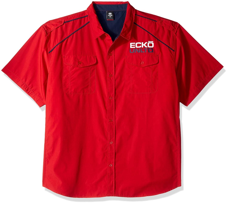 Ecko Unlimited Mens Trooper Ss Woven