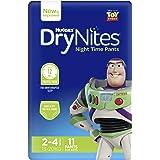 Huggies DryNites Pyjama Pants, Boys, Size 2-4 Years (11 Pack)