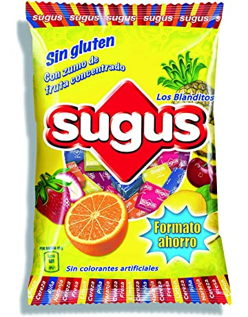814a5f656 Sugus - Caramelos blandos con zumo de fruta, 1 Kg