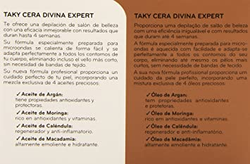Taky Expert Cera Depilatoria Microondas - 300 ml: Amazon.es: Belleza