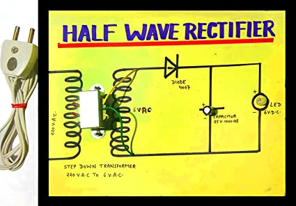 sameer science projects Half Wave Rectifier on