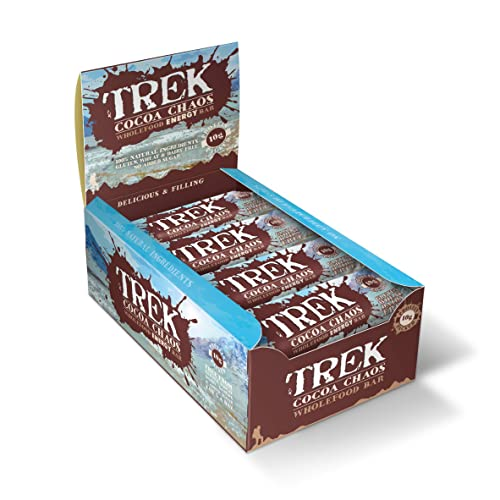 Trek Protein Energy Bar Cocoa Chaos - Pack of 16 Bars