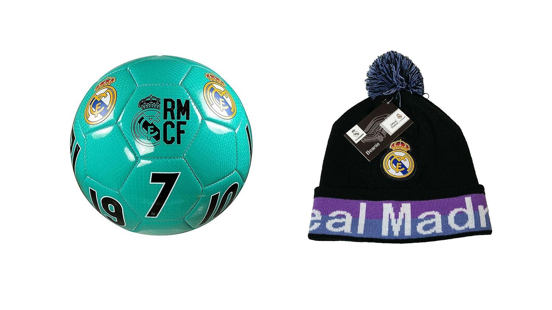 Real Madrid C.F. Pelota de Fútbol con Licencia Oficial Tamaño 4 y ...