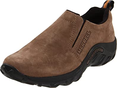 Merrell Jungle Moc Nubuck (Toddler/Little Kid/Big Kid),Brown,