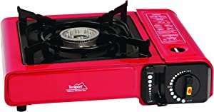 Texsport Single Burner 8,000 BTU Butane Stove with Carry Case