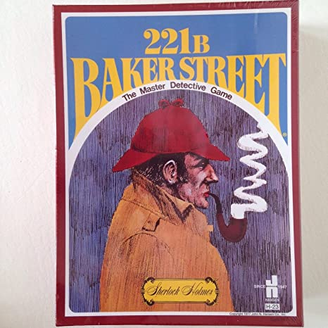 221B Baker Street The Master Detective Juego Sherlock Holmes ...