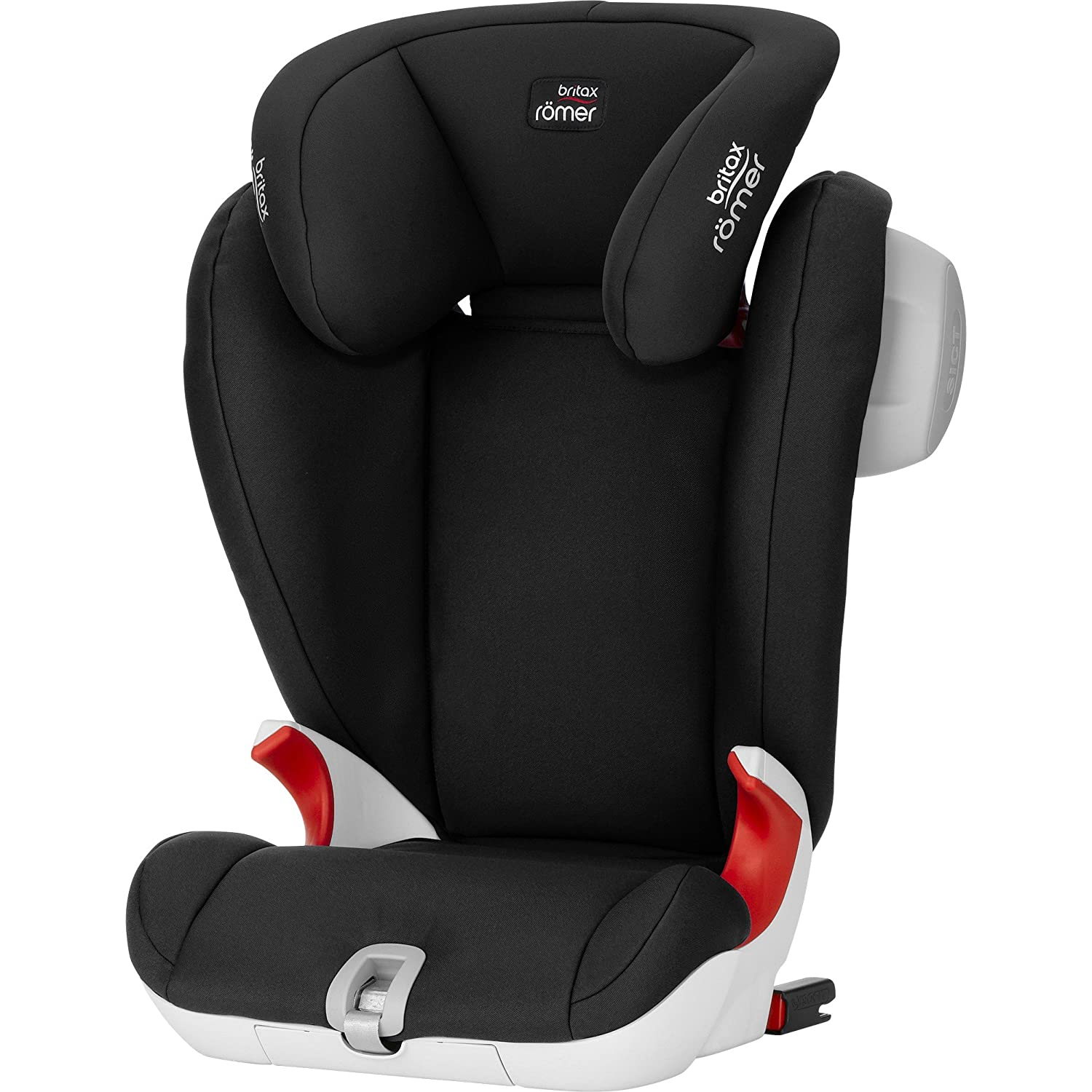 britax romer kidfix sl high backed booster car seat cosmos black ebay. Black Bedroom Furniture Sets. Home Design Ideas