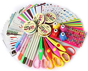 SICOHOME Scrapbooking Supplies, Scrapbook Kit for Gift, Scrapbooking and Card Making