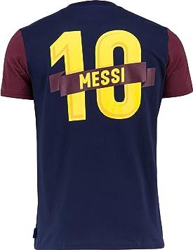 Fc Barcelone Camiseta de algodón Barça - Lionel Messi - Colección ...
