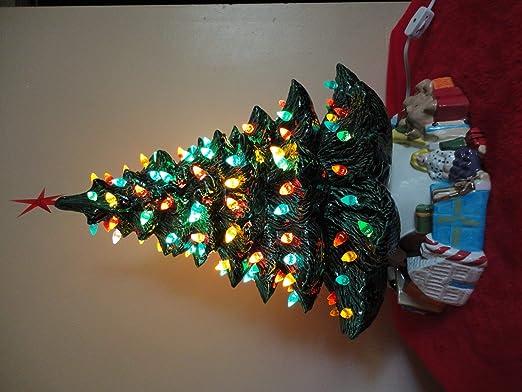 Assorted colors New Ceramic Christmas Tree  bulbs 30 Mixed Lot Fun Lights