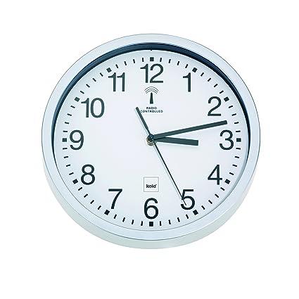 Amazon.com: Reloj de pared Kela (periférico), color blanco ...