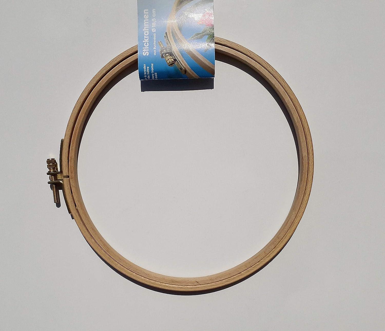 Prym-20 x 25 cm in Legno di faggio Telaio da Ricamo con Vite