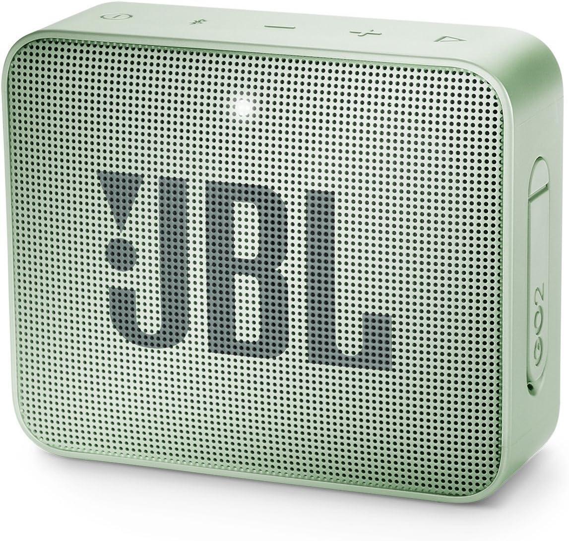 JBLJBLGO2GMT Go 2 Portable Bluetooth, Mint, 4.3 x 4.5 x 1.5