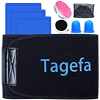 Tagefa Fat Freezing Body Sculpting Waist Trimmer, Lose Stubborn Belly Fat by Freezing Fat Cells at Home, Stomach Wraps…