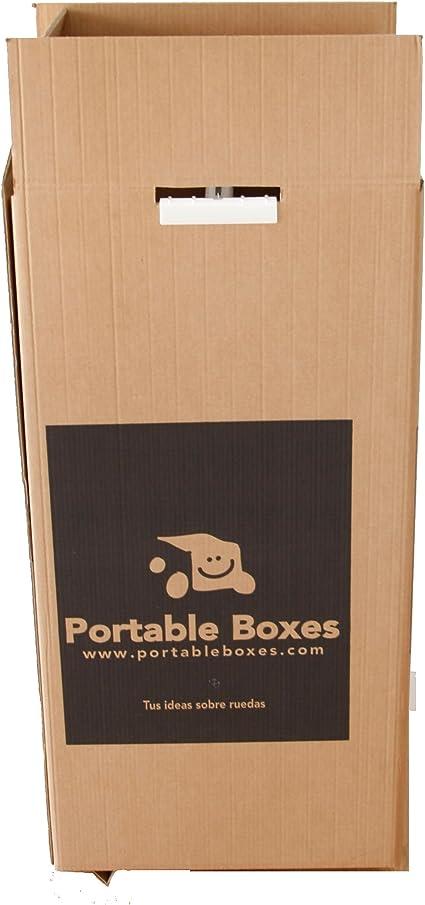 Caja Armario con ruedas (pequeña): Amazon.es: Oficina y papelería