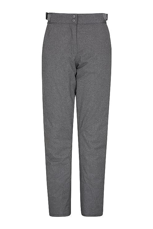 Mountain Warehouse Sub Zero Womens Ski Trousers - Warm Ladies Pants Grey 8 943d77460