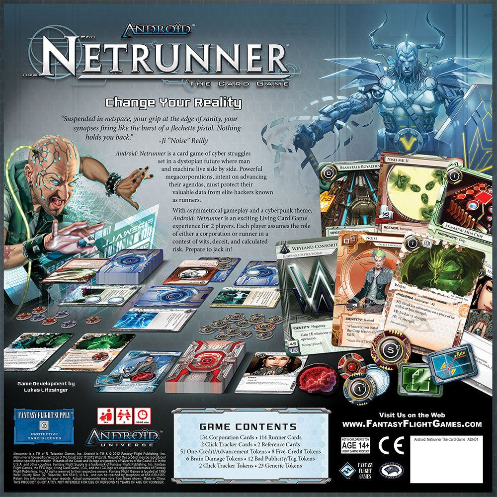 Android Netrunner LCG by Fantasy Flight Games (Image #1)