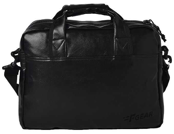 F Gear Aristo Black Soft Sided Laptop Bag (2435)