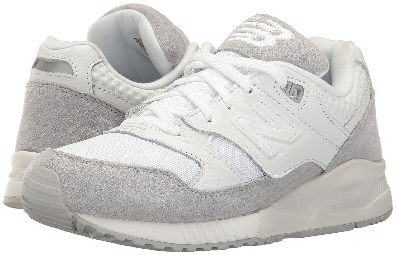 New Balance Women's 530 90s Running Lifestyle Fashion Sneaker B01LYBQELV 9 B(M) US White/Silver Mink