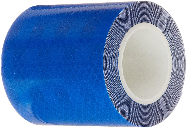 "3M 3435 Blue Reflective Tape, 3"" Width x 5yd Length"