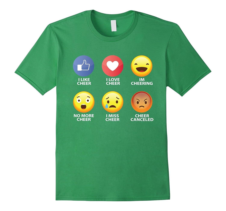 Cheer Emoticon Shirt-Samdetee