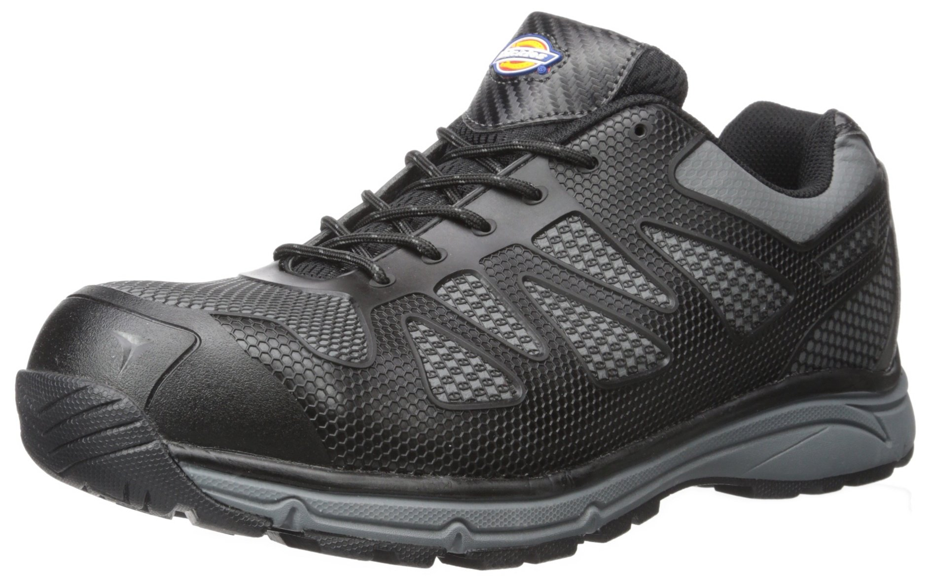 Dickies Men's Fury Low Safety Athletic, Black, 11 M US by Dickies