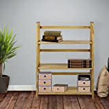 Casual Home 3-Shelf Folding Stackable Bookcase