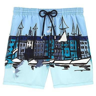 8b44e593af Vilebrequin Le Port Swim Shorts - Men - XXXL - Frost Blue: Amazon.co ...