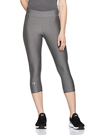 9d5fc438d4 Under Armour HG Armour Capri Yoga Pants, Three Quarter Leggings Made from  Ultralight Fabric,