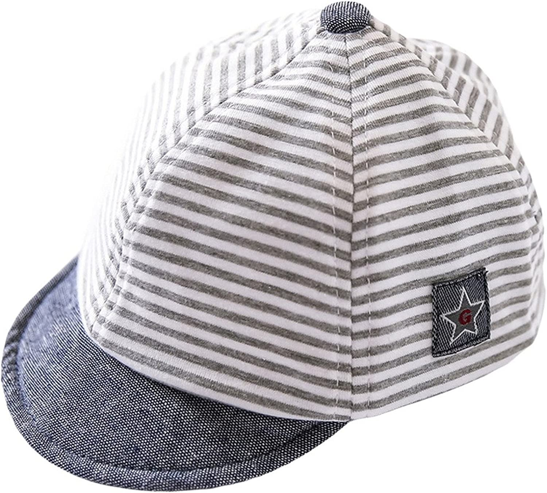 Fancyland Chapeau B/éb/é Casquette de Baseball/Anti-Soleil Souple Outdoor Stripes