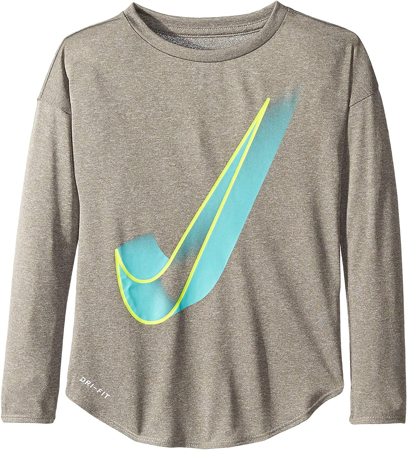Little Kids Nike Kids Girls Interstellar Swoosh Long Sleeve Tee