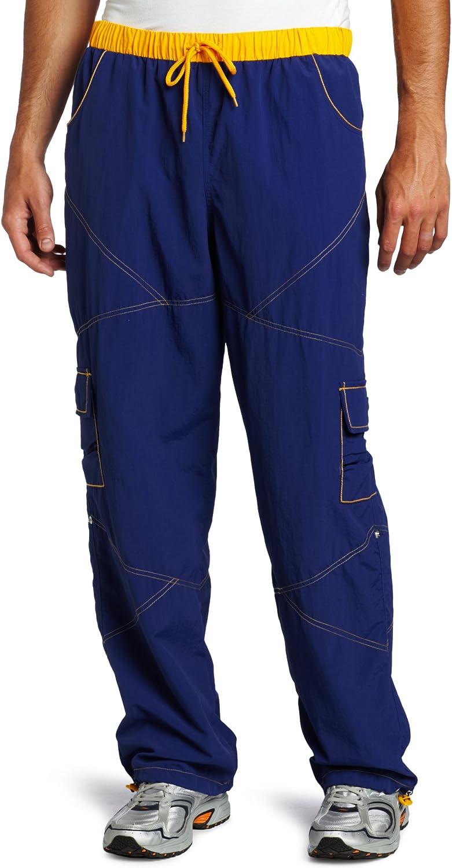 Zumba Fitness Mens Fusion Cargo Pants Blue Medium