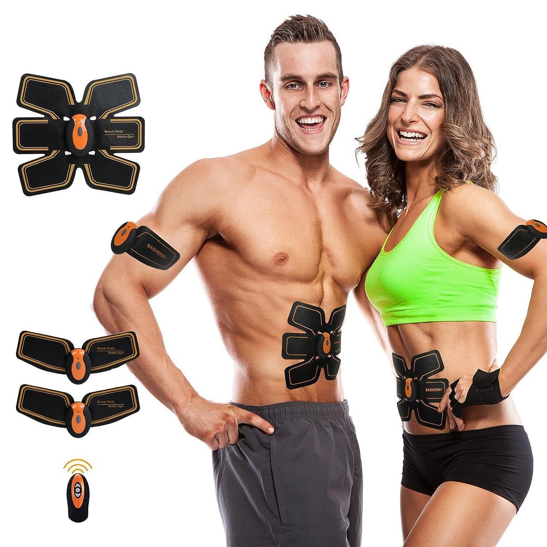 Vinnare Muscle Toner, Abdominale Ceinture tonification ABS Training Gear Portable Fitness Machine Exercice pour l'abdomen/Bras/Jambe de Soutien pour Les Hommes/Femmes TZLong